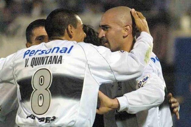 Entre 1999 e 2002 a competição não foi realizada. Após o fim da Supercopa e a criação da Mercosul, a Recopa deu uma pausa de quatro anos, retornando apenas em 2003 com a criação da Copa Sul-americana. O ano da volta do torneio contou com mais um título do Olímpia do Paraguai em jogo único em Los Angeles, contra o San Lorenzo. A equipe paraguaia derrotou os argentinos por 2 a 0.