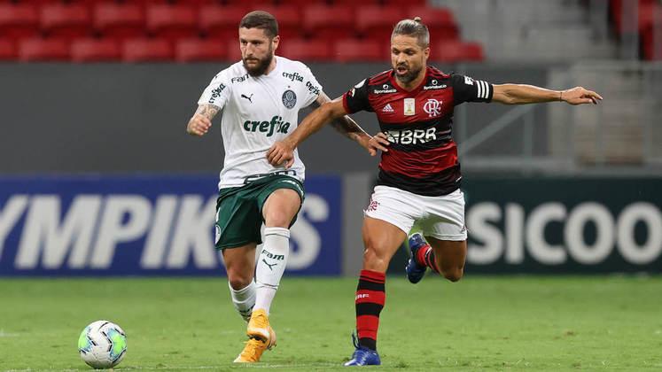 Entre os reservas, o placar foi de 6 a 5 para o Palmeiras.