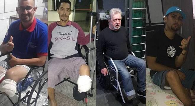 Motoboys sofreram acidentes e ainda não foram indenizados