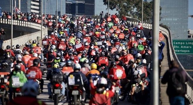 Primeiro breque teve adesão de milhares de trabalhadores pelo Brasil