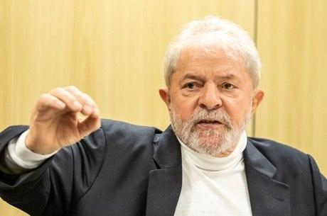 Na imagem, ex-presidente Lula (PT)