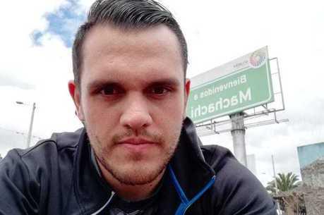 Jovem Marco Dutra vive em Latacunga