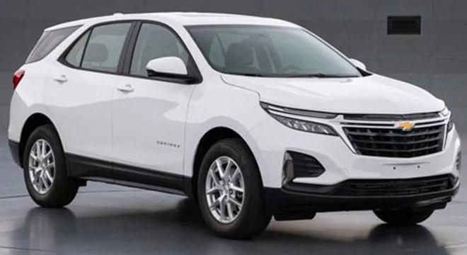 A Chevrolet deve mostrar a nova Equinox no Salão de Nova York em abril.