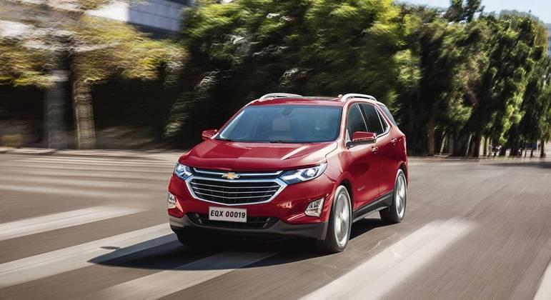 A GM confirmou hoje (24), a chegada do crossover Equinox modelo 2021