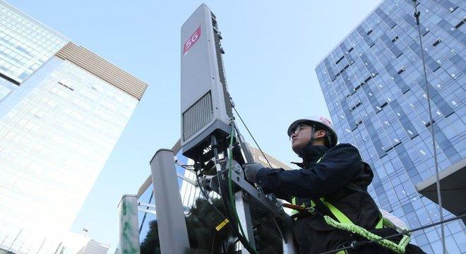 A tecnologia 5G já é realidade na Coreia do Sul desde abril