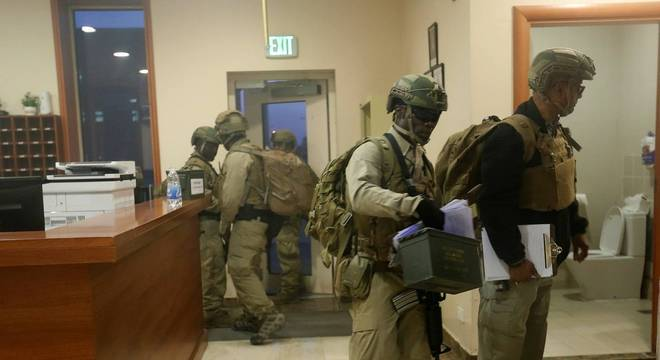 Equipe de segurança da Embaixada dos EUA em Bagdá