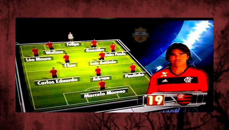 Equipe do Flamengo comandada por Mano Menezes em 2013.