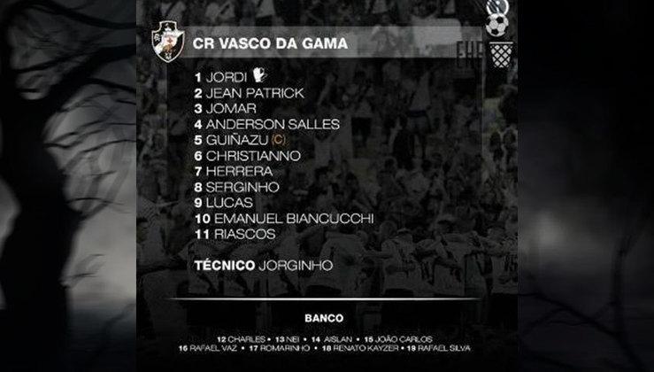 Equipe do Vasco em 2015, ano do terceiro rebaixamento para a Série B do Brasileirão