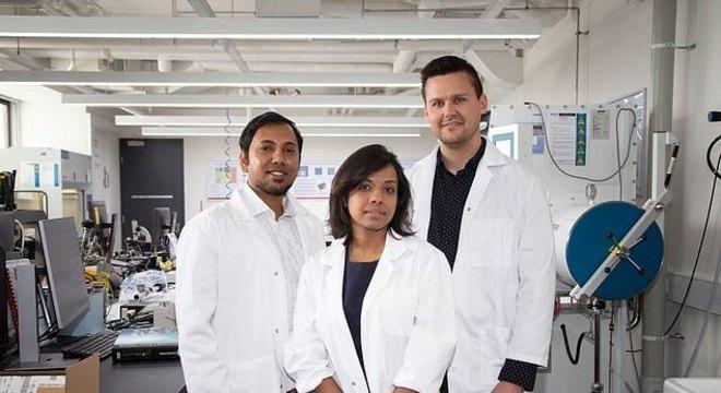 Equipe mo RTMI responsável pela descoberta