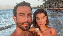Erasmo Viana diz que fala o 'básico' com a ex-mulher, Gabriela Pugliesi