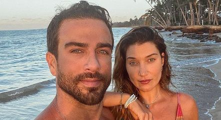 Erasmo e Gabriela Pugliesi estavam juntos desde 2015