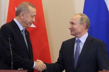 Erdogan e Putin fecharam acordo nesta terça-feira