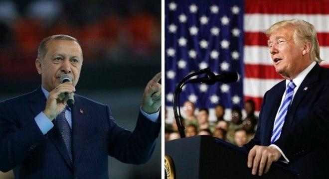 Erdogan e Trump estão em conflito mas não ha interesse em ruptura entre países
