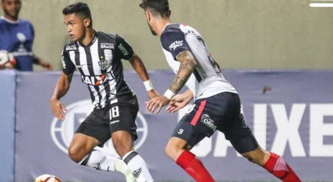 Erik foi um dos jogadores que mais buscou o gol pelo Atlético Mineiro