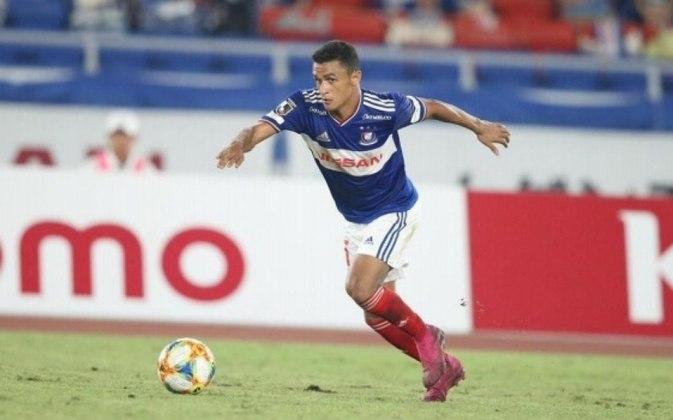 Erik – O atacante do Palmeiras foi emprestado para o Yokohama Marinos em agosto de 2019. Nessa temporada de 2020 ele marcou 15 gols em 35 partidas com a camisa do time japonês. Erik volta ao Palmeiras em janeiro de 2021