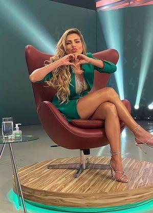 "Erika Schneider foi a terceira eliminada de ""A Fazenda13"""