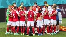 Um susto grande pelo desmaio de Ericksen, porém seguiu a Euro2020