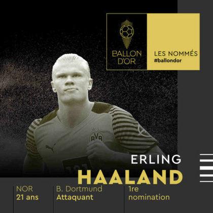 Erling Haaland (norueguês) - atacante - Borussia Dortmund
