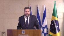 Ernesto Araújo recebe ordem para colocar máscara em Israel