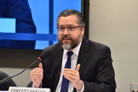 """""""Brasil não tem plano B para a Embaixada dos EUA"""", diz chanceler"""