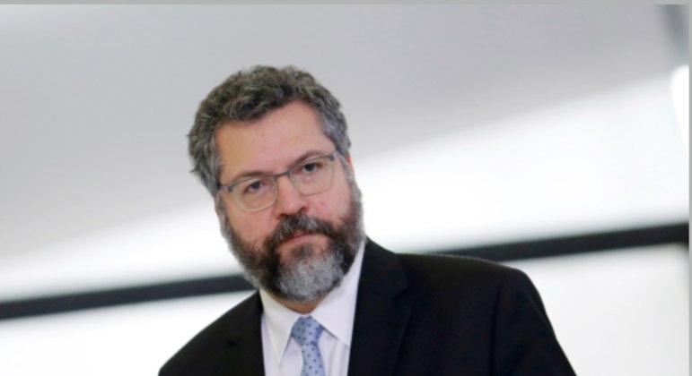 O ministro de Relações Exteriores, Ernesto Araújo