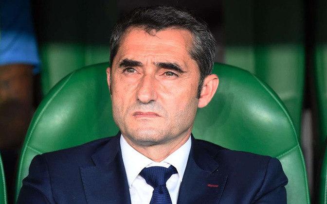Ernesto Valverde – espanhol – 57 anos – sem clube desde que deixou o Barcelona, em janeiro de 2021 – principais feitos como treinador: conquistou dois Campeonatos Espanhóis (Barcelona)