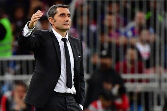 Ernesto Valverde - Último clube: Barcelona (ESP)