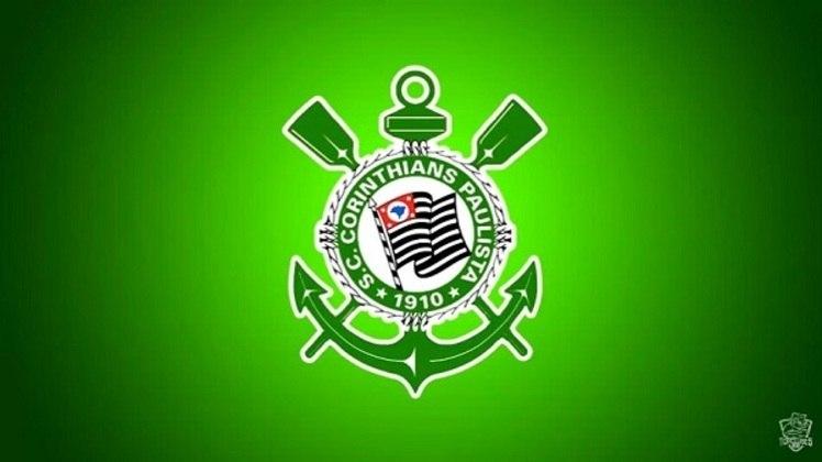Erro no feitiço do Doutor Estranho? O escudo do Corinthians com as cores do Palmeiras.