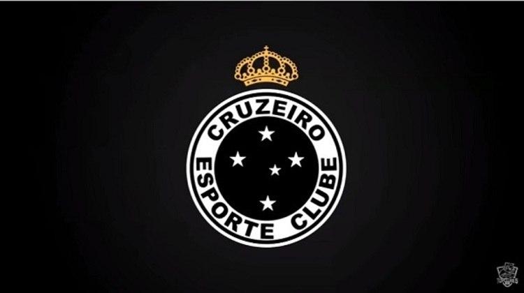 Erro no feitiço do Doutor Estranho? O escudo do Cruzeiro com as cores do Atlético-MG.