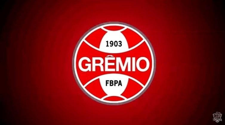 Erro no feitiço do Doutor Estranho? O escudo do Grêmio com as cores do Internacional.