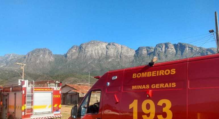 Escaladores ficaram presos no Pico do Baiano, na cidade de Catas Altas