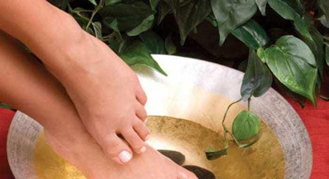 Escalda pés - o que é, para o que serve e contraindicações