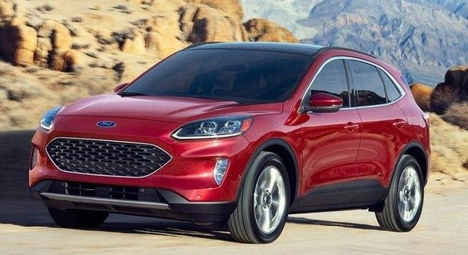 A Ford prepara diversos lançamentos para 2021. Entre eles está o Escape Hybrid