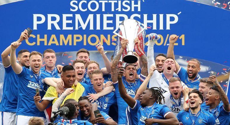 Rangers, o campeão da Escócia