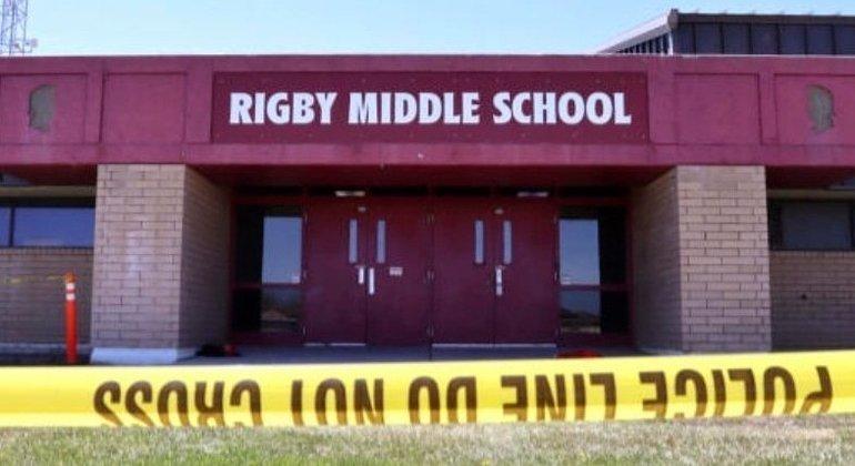 Incidente aconteceu na Rigby Middle School, perto de Idaho Falls (EUA)