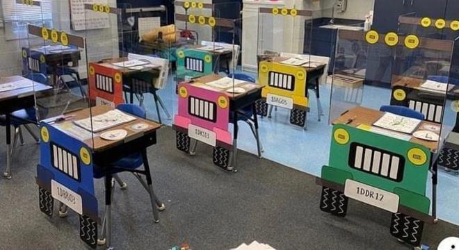 Cada aluno terá seu próprio veículo para assistir a aula