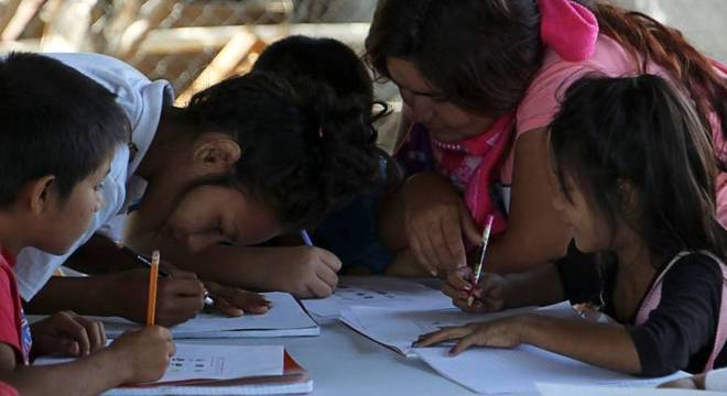 Escola para crianças pobres montada em Culiacán, no México, por filhos de EL Chapo