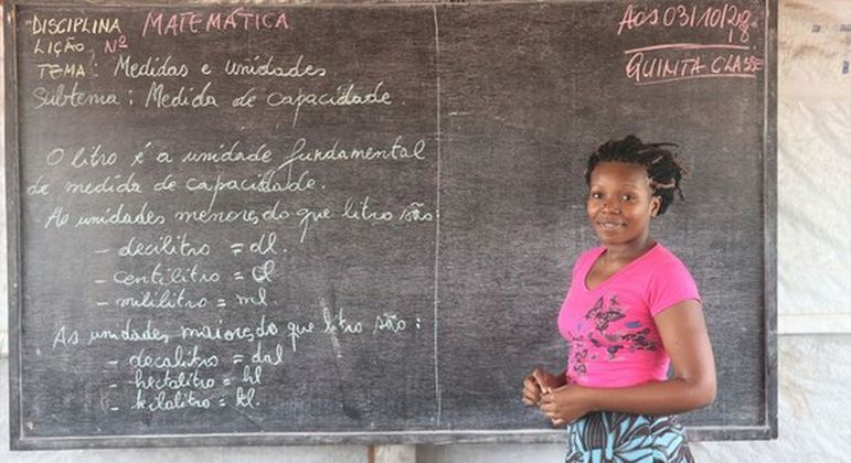 Cai o nível de acesso à educação entre refugiados durante a pandemia