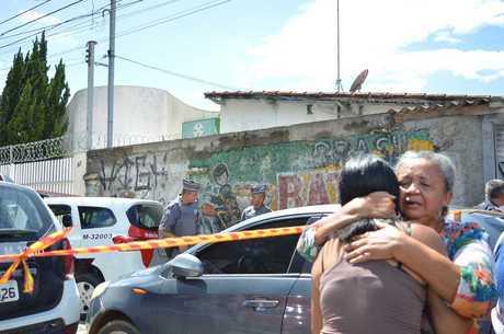 Local onde ocorreu massacre em escola de Suzano (SP)
