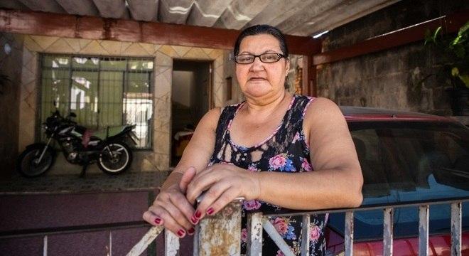 Rosana encontrou escorpiões na garagem, no banheiro e na cozinha