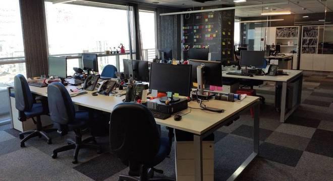 Escritório da empresa Topdesk, em São Paulo. Empresa vai ampliar o home office