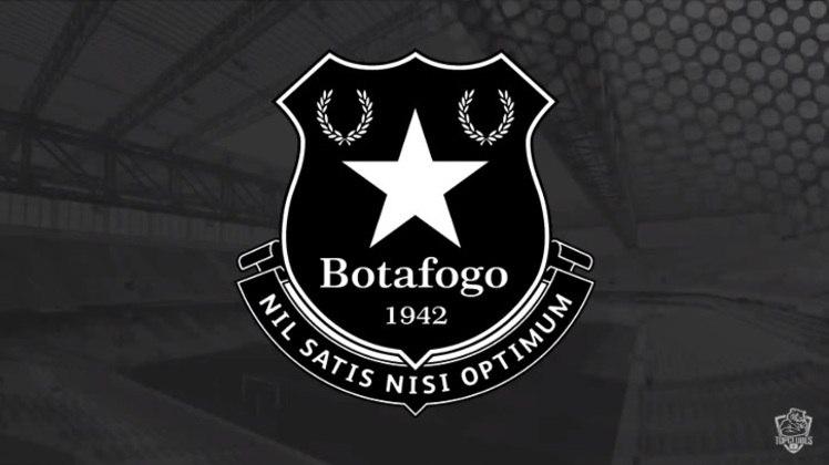 Escudo do Botafogo com as características do Everton