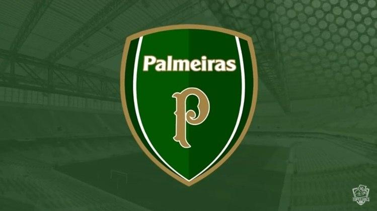 Escudo do Palmeiras com as características do Arsenal