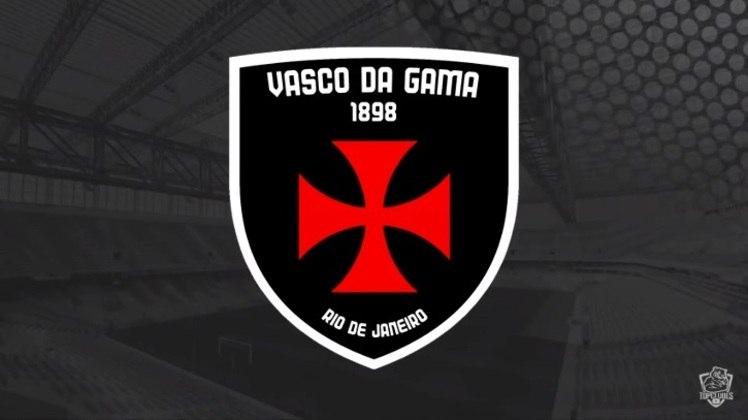 Escudo do Vasco da Gama com as características do West Ham