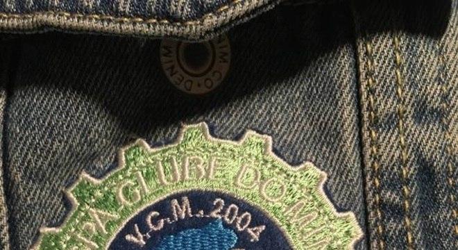 Escudo do Vespa Clube do Minho, de Portugal / Arquivo pessoal