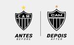 Redesenho de escudos de clubes de futebol: Atlético Mineiro