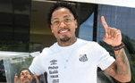 Principal jogador do Santos na temporada, Marinho foi o mais recente homenageado. Nas redes sociais, o Peixe mostrou o talento de Felipe que fez o atacante fazendo sua principal comemoração