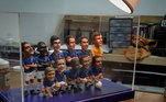 Além do astro, a equipe campeã da taça Brasil de 1966 também foi feita pelo torcedor, que demonstra seu carinho e amor pelo clube através da arte