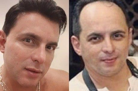 Esdras exibiu antes e depois nas redes sociais