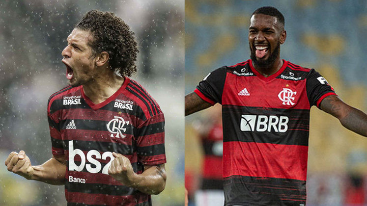 ESFRIOU - Em nota divulgada nesta quarta-feira, a diretoria do Benfica reforçou que não há qualquer negociação em curso pelas contratações da Willian Arão e Gerson, dupla de volantes do Flamengo.